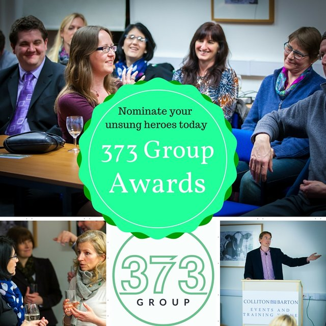 373 Group Annual Awards - Nominate today! image